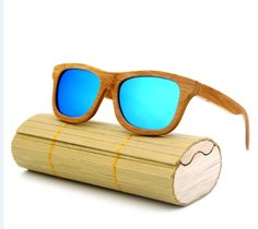 0cfda558a346 fashion Products Men Women Glass Bamboo Sunglasses au Retro Vintage Wood  Lens Wooden Frame Handmade