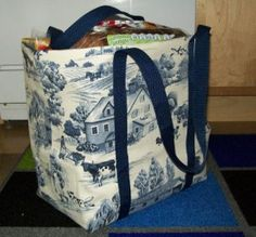 homemade shopping bag