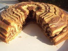 Υπέροχο εμφανισιακά και τόσο νόστιμο γευστικά.. Κέικ Ζέβρα - Χρυσές Συνταγές