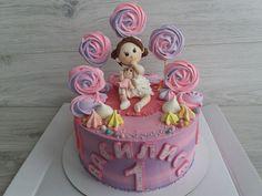Мой торт для девочки на годик Girl Cakes, Girls, Desserts, Toddler Girls, Tailgate Desserts, Deserts, Daughters, Maids, Postres