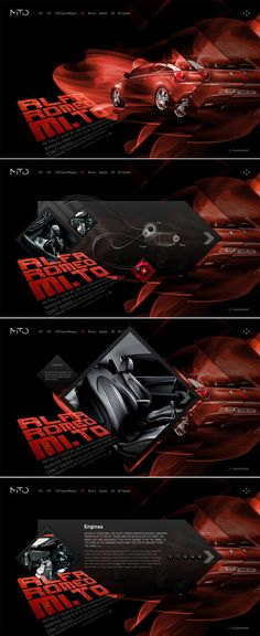 Alfa Mi.To by Yegor Trukhin, via Behance