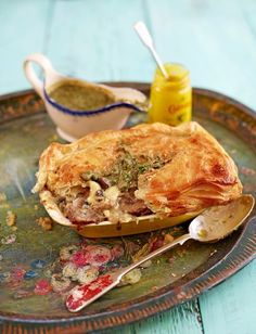 Mushroom Pie by Jamie Oliver