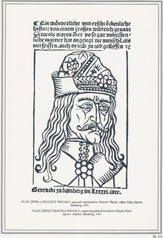 Vlad the Impaler | Vlad the Impaler Vlad engraving