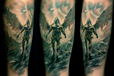 cleanfun abstract tattoo