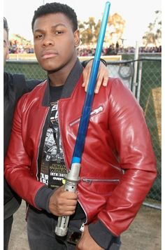 Men's Leather Jacket, Leather Men, Paris Movie, Leather Jackets For Sale, John Boyega, Star Wars Comics, Star Wars Shop, Disneyland Paris, Brad Pitt
