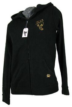 Pussy Deluxe Goldcat Fleece Jacke inkl. Handschuhe   modern-store.de