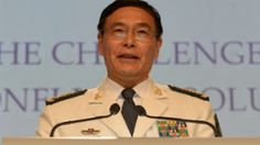 "During an annual conference on security in the Asia-Pacific region held at the Shangri-La Dialogue in Singapore, Admiral Sun Jianguo, deputy chief of general staff of the Chinese People's Liberation Army, strongly defended his country's activities in the South China Sea saying, ""We do not make trouble, but we have no fear of trouble."" #southchinasea #AsiaPacificregion"