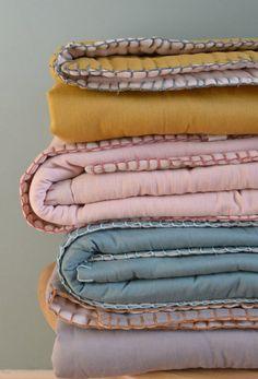 Reversible Children's Quilts | Camomile London
