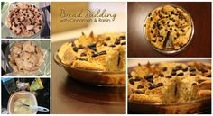 Bread Pudding with Cinnamon and Raisin