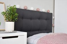 DIY   PIKOWANY ZAGŁÓWEK DO ŁÓŻKA • Dekoruj chwileDekoruj chwile - Love Seat, Bed Pillows, Pillow Cases, Couch, Diy, Furniture, Home Decor, Pillows, Settee