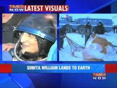 Sunita Williams, 2 astronauts return to Earth from ISS