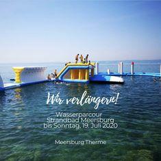 👍 Der Wasserpark im Freibad Meersburg ist nur noch heute bis 17:00 Uhr geöffnet. Kommt vorbei und habt Spaß!😎🤟😀 #airventwasserparks #meersburgtherme