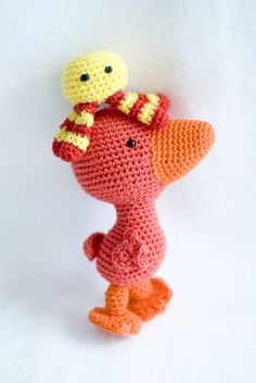 Crochet Books, Knit Crochet, Book Characters, Fictional Characters, Tweety, Projects To Try, Knitting, Diy, Animals