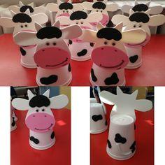 Köpük bardaklardan  ineklerimiz