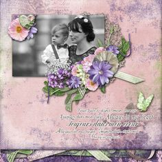 Janni's Wedding Created with Tojours dans mon coeur {Always in my heart} from Dana's Footprint Digital Designs