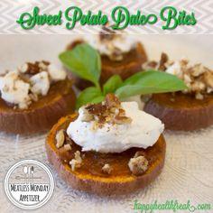 Sweet Potato Date Bites ~ Meatless Monday