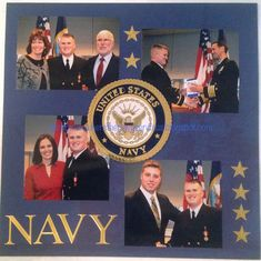 Home Is Where the Navy Sends Us: My Scrapbook: The Pages So Far