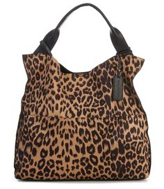 From Sole Society&& the Jamari Leopard Print Tote Bag features& PVC materialVegan leather Antique gold hardwareSnap closure Interior media pocketExterior back slide pocket Approx& x x ; Tote Handbags, Purses And Handbags, Leopard Bag, Leopard Handbag, Leopard Outfits, Cheetah, Custom Purses, Leather Purses, Leather Bags