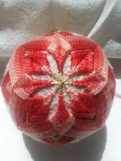 Peach Chrysanthemum 3 inches diameter by DETemariCreations on Etsy, $30.00