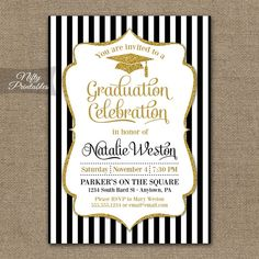 Hey, I found this really awesome Etsy listing at https://www.etsy.com/listing/215637307/graduation-invitation-printable