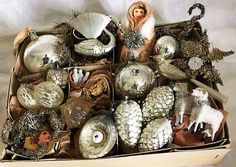 Beautiful old Christmas Ornaments