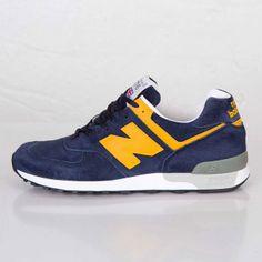 New Balance M576 Navy / Yellow