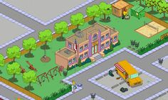 Simpsons Tapped Out ~ Springfield Elementary