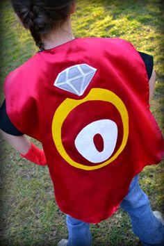 Ring Bearer Superhero Cape  Ringbearers by babypop on Etsy