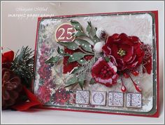 Margyz Paper Games: Christmas Cards for Megs Garden