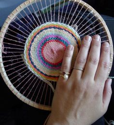 weaving in the round :-)