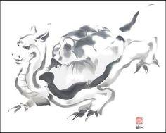 Turtle god, dragon Japanese mythology