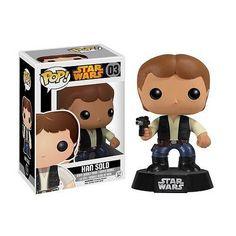 Star Wars Han Solo Pop! Vinyl Figure Bobble Head