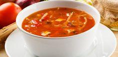 Voor na een dag hard werken is er deze heerlijke, volle tomatensoep. Een koolhydraatarm recept van Dieetkompas.nl