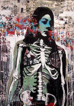 Artist Hush at Whitewalls in San Francisco!