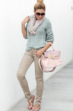 cute accents! Check out the hint of pink here and there! Something to wear with my khakis!