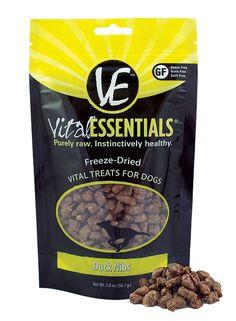 Vital Essentials Freeze Dried Duck Nibs Treats