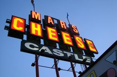 Mars Cheese Castle sign.