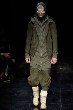 The Boris Bidjan Saberi Fall/Winter 2012 Line is Military-Chic #futuristic #menswear trendhunter.com