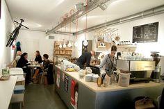 Borgman & Borgman, Leiden. Really good coffee.