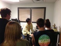 SOTC Ardmore students learned about light microscopy today at the #NobleFoundation. #NobleAcademy