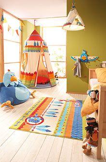 Native American Decorating Ideas - kids bedroom