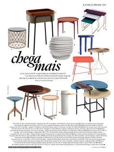 CasaVogue, Abril 2016 // Palette Desk por designer Jamie Hayon // &Tradition, Dinamarca