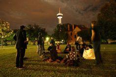 Occupy San Antonio, Hemisfair Park, San Antonio, TX.