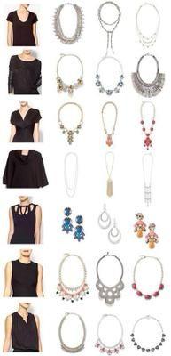 ¡Encuentra el collar perfecto para tus prendas con estos consejos!