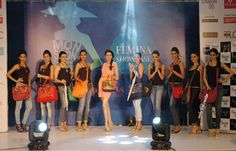 Style diva Alesia Raut & #Baggit sizzled on the splendid #Femina Fashion Runway at #VivianaMall with our gorgeous bags!