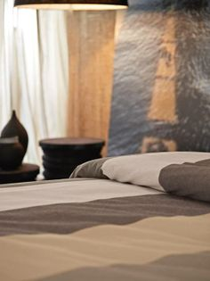 The Duvet Set In A Linen Mix In Natural Shades To Give A Sophisticated And  Welcoming