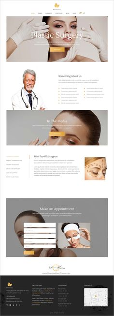 Kendall is a stylish and amazing #WordPress theme for #plasticsurgery #surgeon spa, hair and beauty salons website with 12+ unique homepage layouts download now➩ https://themeforest.net/item/kendall-a-stylish-theme-for-spa-hair-beauty-salons/18601371?ref=Datasata