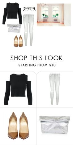 """""""Untitled #14518"""" by jayda365 ❤ liked on Polyvore featuring New Look and Topshop"""