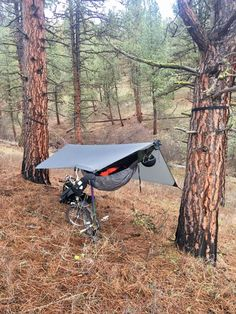 Bushcraft Camping, Camping Survival, Camping Hacks, Touring Bicycles, Touring Bike, Ultralight Hiking, Backpacking, Bike Trails, Biking