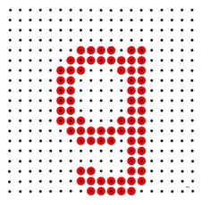 Monogram Alphabet, Phonics, Beading Patterns, Spelling, School Stuff, Language, Education, School Supplies, Bead Patterns